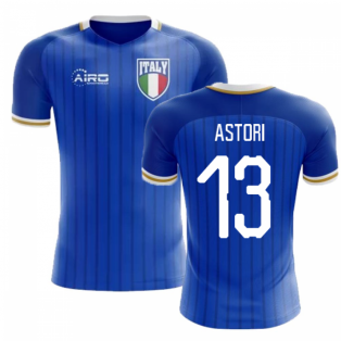 2018-2019 Italy Home Concept Football Shirt (Astori 13) - Kids