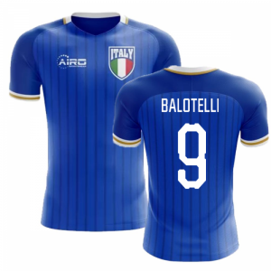 2020-2021 Italy Home Concept Football Shirt (Balotelli 9) - Kids