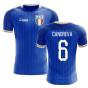 2020-2021 Italy Home Concept Football Shirt (Candreva 6) - Kids