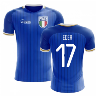 2018-2019 Italy Home Concept Football Shirt (Eder 17) - Kids