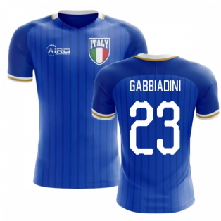 2018-2019 Italy Home Concept Football Shirt (Gabbiadini 23) - Kids