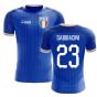 2018-2019 Italy Home Concept Football Shirt (Gabbiadini 23) - Kids