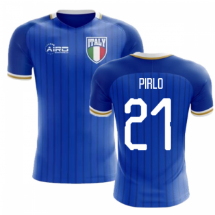 2018-2019 Italy Home Concept Football Shirt (Pirlo 21) - Kids