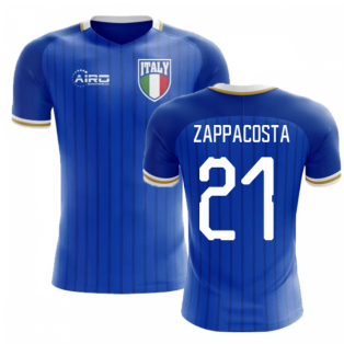 2020-2021 Italy Home Concept Football Shirt (Zappacosta 21) - Kids