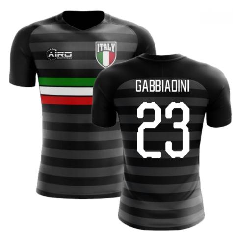 2020-2021 Italy Third Concept Football Shirt (Gabbiadini 23) - Kids