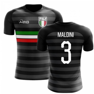 2018-2019 Italy Third Concept Football Shirt (Maldini 3) - Kids