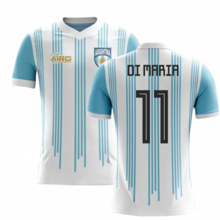 2018-2019 Argentina Home Concept Football Shirt (Di Maria 11) - Kids