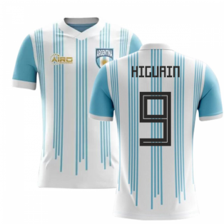 2018-2019 Argentina Home Concept Football Shirt (Higuain 9) - Kids