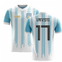 2020-2021 Argentina Home Concept Football Shirt (Lanzini 17) - Kids