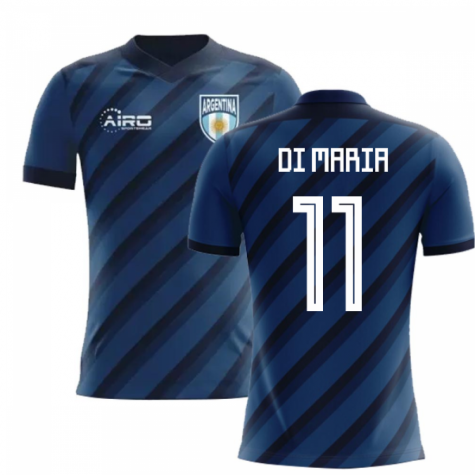 2018-2019 Argentina Away Concept Football Shirt (Di Maria 11) - Kids