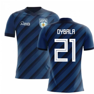 2020-2021 Argentina Away Concept Football Shirt (Dybala 21) - Kids