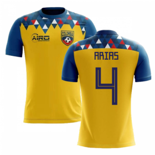 2018-2019 Colombia Concept Football Shirt (Arias 4) - Kids