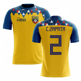 2018-2019 Colombia Concept Football Shirt (C.Zapata 2) - Kids