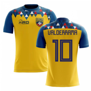 2018-2019 Colombia Concept Football Shirt (Valderrama 10) - Kids