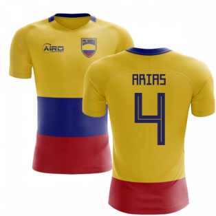 2020-2021 Colombia Flag Concept Football Shirt (Arias 4) - Kids