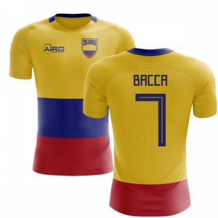 2018-2019 Colombia Flag Concept Football Shirt (Bacca 7) - Kids
