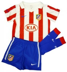 2010-11 Athletico Madrid Nike Little Boys Home Mini Kit