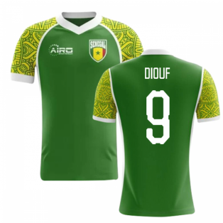 2020-2021 Senegal Away Concept Football Shirt (Diouf 9) - Kids