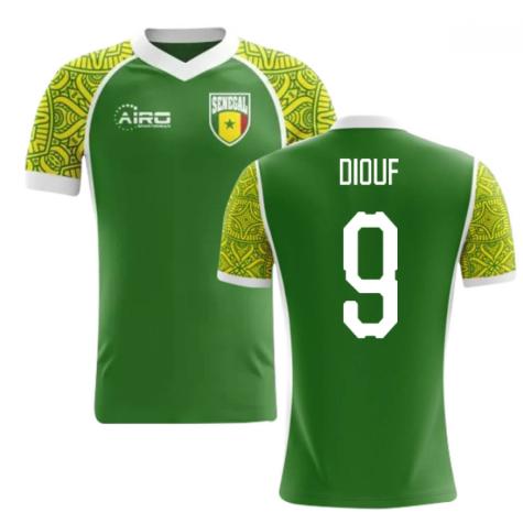 2020-2021 Senegal Away Concept Football Shirt (Diouf 9) - Kids