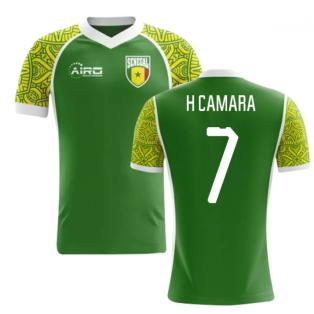 2018-2019 Senegal Away Concept Football Shirt (H Camara 7) - Kids