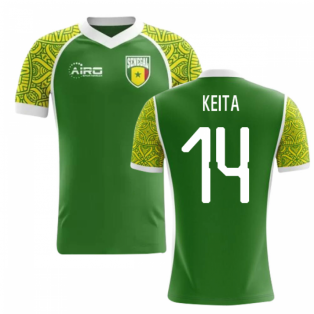 2018-2019 Senegal Away Concept Football Shirt (Keita 14) - Kids