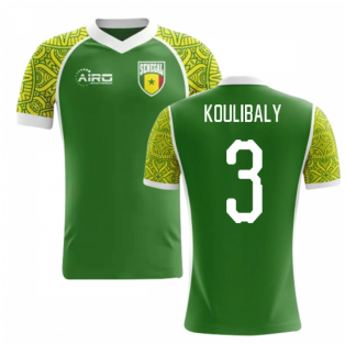 2018-2019 Senegal Away Concept Football Shirt (Koulibaly 3) - Kids