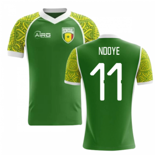 2020-2021 Senegal Away Concept Football Shirt (Ndoye 11) - Kids