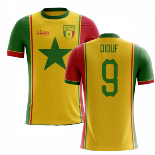 2020-2021 Senegal Third Concept Football Shirt (Diouf 9) - Kids