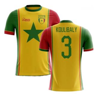 2018-2019 Senegal Third Concept Football Shirt (Koulibaly 3) - Kids