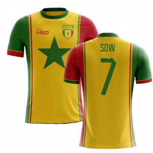 2018-2019 Senegal Third Concept Football Shirt (Sow 7) - Kids