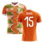 2018-2019 Ivory Coast Home Concept Football Shirt (Gradel 15) - Kids
