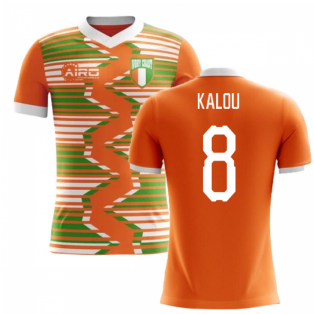 2018-2019 Ivory Coast Home Concept Football Shirt (Kalou 8) - Kids