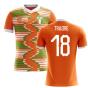 2020-2021 Ivory Coast Home Concept Football Shirt (Traore 18) - Kids