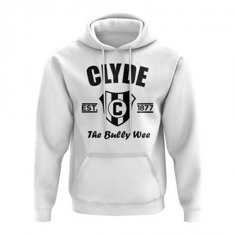Clyde Established Hoody (White)