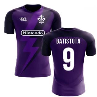 2020-2021 Fiorentina Fans Culture Home Concept Shirt (Batistuta 9) - Kids