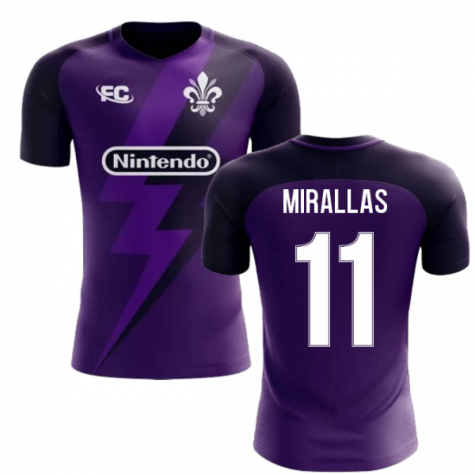 2018-2019 Fiorentina Fans Culture Home Concept Shirt (Mirallas 11) - Kids