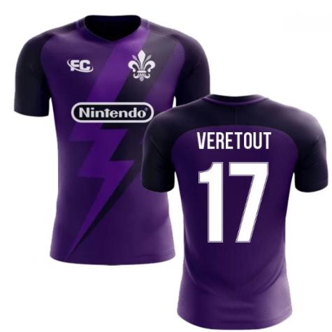 2020-2021 Fiorentina Fans Culture Home Concept Shirt (Veretout 17) - Kids
