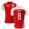 2018-2019 Switzerland Home Concept Football Shirt (Inler 8) - Kids