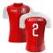2020-2021 Switzerland Home Concept Football Shirt (Lichtsteiner 2) - Kids