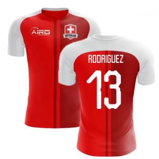 2018-2019 Switzerland Home Concept Football Shirt (Rodriguez 13) - Kids