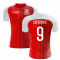 2020-2021 Switzerland Home Concept Football Shirt (Seferovic 9) - Kids