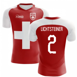 2020-2021 Switzerland Flag Concept Football Shirt (Lichtsteiner 2) - Kids