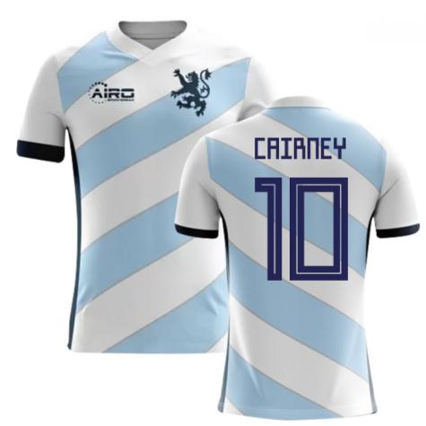 2018-2019 Scotland Away Concept Football Shirt (Cairney 10) - Kids