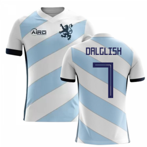 2018-2019 Scotland Away Concept Football Shirt (Dalglish 7) - Kids
