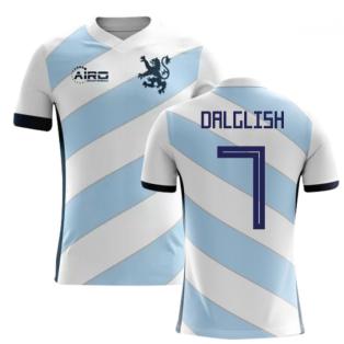 2018-2019 Scotland Away Concept Football Shirt (Dalglish 7) - Kids