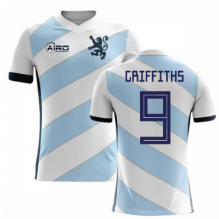 2020-2021 Scotland Away Concept Football Shirt (Griffiths 9) - Kids
