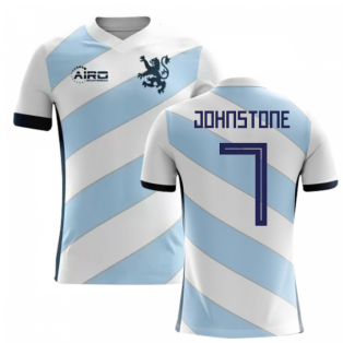 2020-2021 Scotland Away Concept Football Shirt (Johnstone 7) - Kids