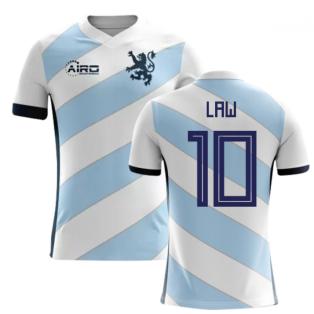 2018-2019 Scotland Away Concept Football Shirt (Law 10) - Kids