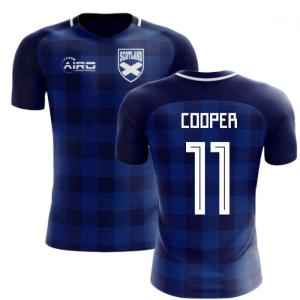 2020-2021 Scotland Tartan Concept Football Shirt (Cooper 11) - Kids