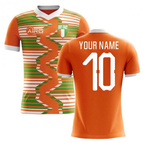 2018-2019 Ivory Coast Home Concept Football Shirt (Your Name)